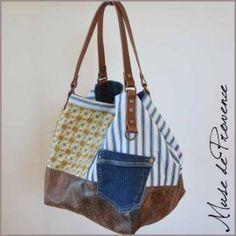 Sacs faits main en cuir et en tissu confectionnés par une manufacture artisanale provençale. Des créations de sacs uniques pour des personnes uniques !