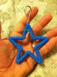 Blue Star keychain by ~doggie-dew on deviantART