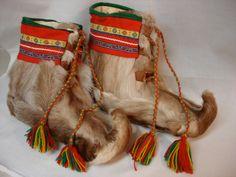 More Sami reindeer fur boots