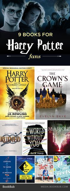 If you love Harry Potter, check out these 9 recommended books.