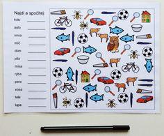čtení slov + počítání Mathematics, Alphabet, Language, Album, Teaching, Spy Games, Montessori, Google, Sport