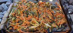 Ovnsbakte grønnsaker Japchae, Paella, Ethnic Recipes, Diabetes, Food, Essen, Meals, Yemek, Eten