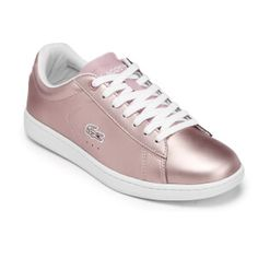 Lacoste Women's Carnaby Evo 117 3 Cupsole Trainers - Light Pink Womens  Footwear - Free UK Delivery over