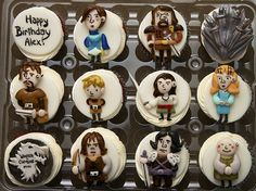 Game of Thrones Character Cupcakes Jade your birthday coming up....???