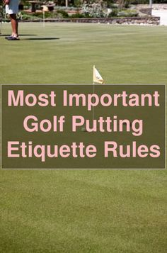 Golf Tips - How To Chip Out Of Trouble With Your Putter. How does it feel whenever you hit a fantastic drive, all the way down the center, nice and lo... Golf Putting Tips, Order Of The Day, Drive Me Crazy, Putt Putt, All The Way Down, Learn To Read, Golf Tips, When Someone
