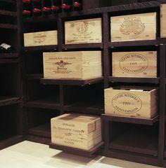 Custom Wine Cellar - Wenge Wood - 2200 Bottles - contemporary - wine cellar - other metro - Degre 12 - Custom Wine Cellars