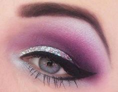 Glitter Glam Eyes for Prom 2013 Inspired by @Camille La Vie