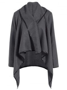 GET $50 NOW | Join RoseGal: Get YOUR $50 NOW!http://www.rosegal.com/coats/zipper-embellished-asymmetric-coat-756978.html?seid=7849858rg756978