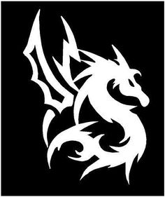 Details About M Dragon Totem Vinyl Car Motocross Bike Decal - Bike vinyl stickers