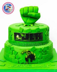 Torta hulk - Hulk cake