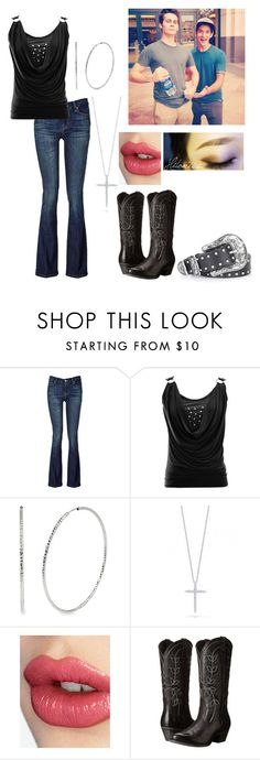 """Goofing Off With Dylan and Tyler"" by dylanobrienimagines ❤ liked on Polyvore featuring Mode, 7 For All Mankind, Kenneth Cole, Roberto Coin, Charlotte Tilbury, Ariat, Topshop, women's clothing, women und female"