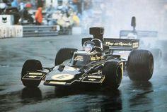 Jacky Ickx   Lotus 72E   Monaco Grand Prix