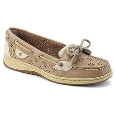 Cute perf style Sperrys for my daughter's senior year! Sperry Top-Sider Angelfish found at #OnlineShoes