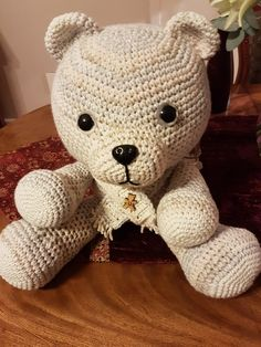 Crotchet, Teddy Bear, Homemade, Toys, Projects, Animals, Activity Toys, Log Projects, Blue Prints