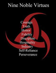 The Nine Noble Virtues of Ásatrú