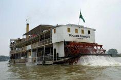 Desbravador das Américas, o vapor Benjamim Guimarães singrou a Amazônia e o Mississippi, no coração dos Estados Unidos, transportando carvão, algodão e madeira do Minnesota ao porto de Nova Orleans.