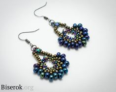 DIY Step-by-step but translate  ~ Seed Bead Tutorials