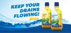 Save $0.75 On DrainOut Drain Cleaner Products With Printable Coupon!