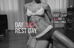 BodyRock Boot Camp – Day #20 – Rest Day  http://www.bodyrock.tv/2014/04/12/bodyrock-boot-camp-day-20-rest-day/