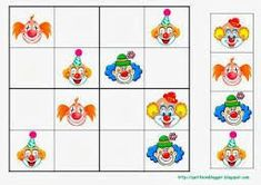 Játékos tanulás és kreativitás: Farsangi időkitöltő feladatok Preschool Education, Preschool Activities, Theme Carnaval, Clown Crafts, Le Clown, Sudoku Puzzles, Blog Backgrounds, Circus Theme, Worksheets