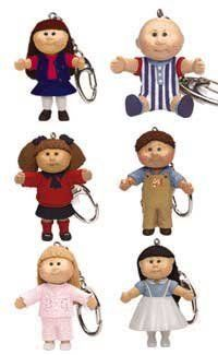 Cabbage Patch Kids Figures Keychains by Basic Fun Cool Keychains, Diy Keychain, Miniature Dollhouse Furniture, Dollhouse Miniatures, Miniature Rooms, 80s Kids, Kids Toys, Cabbage Patch Kids Dolls, Hallmark Ornaments