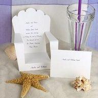 Beach wedding ideas - invitations and more