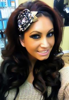 Tracy Dimarco can I have her hair please.