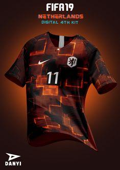 Nike Football Kits, Soccer Kits, Football Design, Football Jerseys, Sports Jerseys, Fifa Football, Sport Shirt Design, Sports Jersey Design, Soccer Outfits