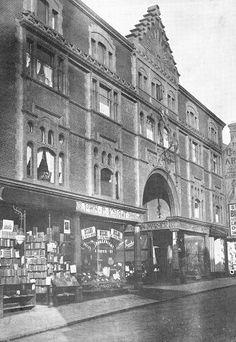 Shop Fronts, Wolverhampton, Sunderland, St Michael, Primary School, Arcade, Flags, Louvre, Street View