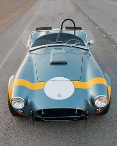 50th Anniversary Shelby 289 FIA Cobra (by Car Fanatics). via automotivated