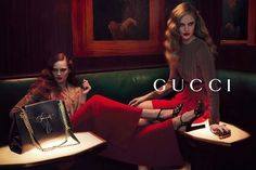 Gucci Pre-Fall 2012 Campaign is Glamorously Seductive #fashion #photoshoot trendhunter.com