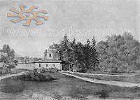 Наполеон Орда. Партеровий павільон в саду в Антонінах. 1862-1876 рр.