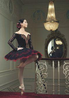 Portrait of Spanish ballerina Tamara Rojo, as Kitri