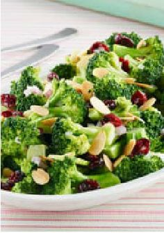 Crunchy Broccoli Salad – This crispy recipe only take 15 minutes to prepare!