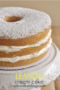 Lemon Cream Cake