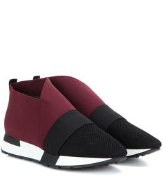 Balenciaga - High-top sneakers - Crafted in Italy with a minimalist, streamlined…