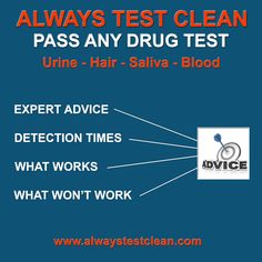 how to clean your blood for a drug test