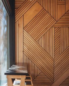 25 + Amazing Wood Wall Covering Ideas für erstaunliche Home Interior - Holz Timber Walls, Timber Panelling, Wood Wall Paneling, Wood Cladding Interior, Wall Wood, Wood Interior Walls, Wood Interior Design, Wood Wall Texture, Wood Panneling