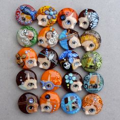Couples 20 beads by 'Glasting'