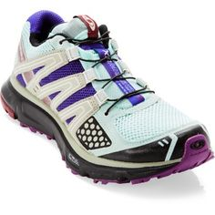 Salomon XR Mission Trail-Running Shoes - Women's Pullstring laces perfect for work
