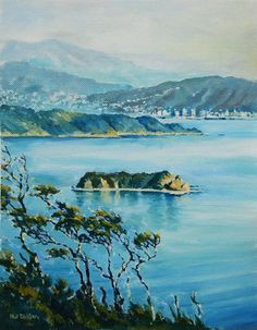 Phil Dickson - artist based in Lower Hutt Valley, Wellington, New Zealand New Zealand Art, New Zealand Travel, Art Academy, Art Club, Community Art, Gallery, Artist, Painting, Painting Art