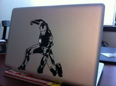 Ironman  Decal for Macbook Pro Air or Ipad by MacDaddyDecal, $9.99