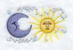 Machine Embroidery Designs at Embroidery Library! - Celestial
