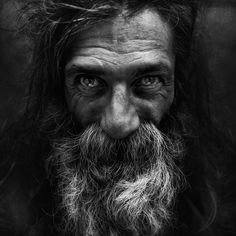 http://thumbpress.com/25-incredibly-detailed-black-and-white-portraits-of-the-homeless-by-lee-jeffries/