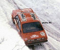 Christian Dorche - Jean-Bernard Vieu Opel Kadett GT/E 13º Montecarlo 1978