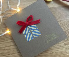 New diy christmas cards for kids tags ideas Homemade Christmas Cards, Christmas Tag, Homemade Cards, Christmas Crafts, Christmas Decorations, Diy Clothes Organiser, Christmas Projects For Kids, Birthday Care Packages, Crafts For Teens