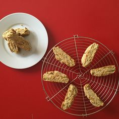 Healthy double baked biscuits