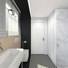 Awesome Interior Home Design Bathroom Design Ideas ~ http://www.lookmyhomes.com/awesome-home-interior-design-ideas-32-photos-by-tarnowskie-gory/