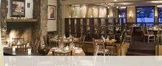 Dining room at the Artisan Restaurant & Bar