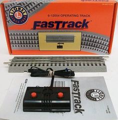Track 99797: Lionel Fastrack Operating Track Section Hobby Train Track -> BUY IT NOW ONLY: $45.85 on eBay!